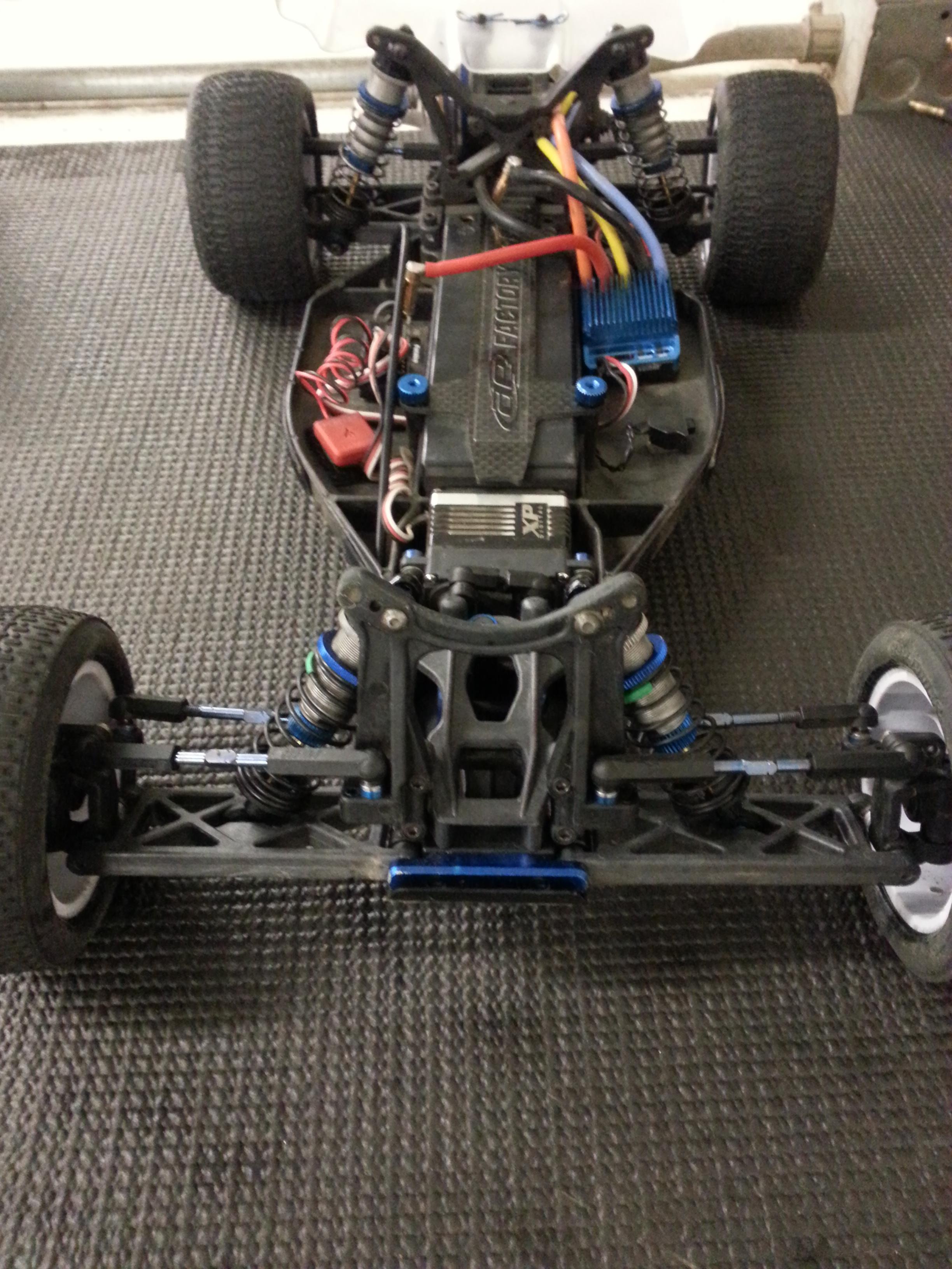 B4 2 Setup and Tacoma RC Raceway Tuesday Aug 13 2013
